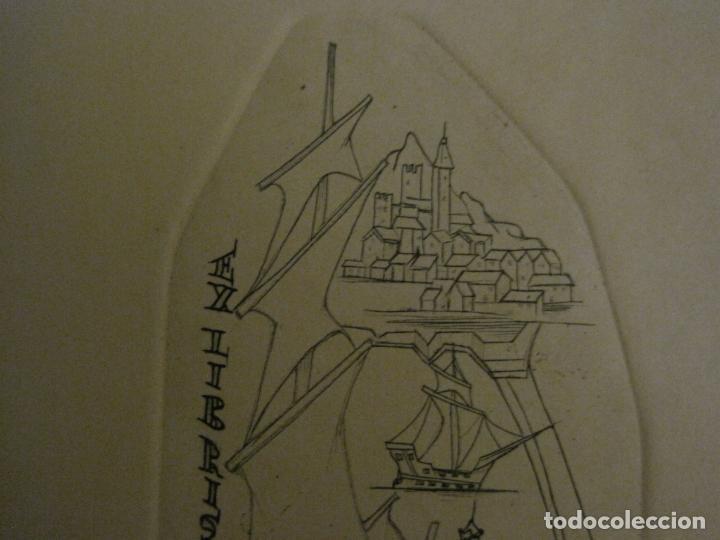 Arte: EX LIBRIS-RAFAEL AMIGO I RIUTORT-ALPRESA-GRABADO-VER FOTOS-(X-2692) - Foto 3 - 183720870