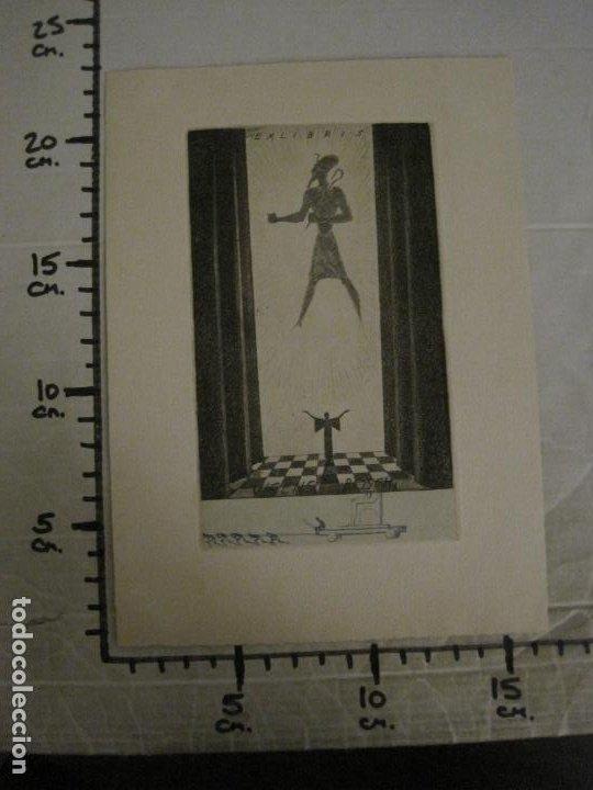 Arte: EX LIBRIS-VICENS BOSCH-GRABADO-VER FOTOS-(X-2694) - Foto 6 - 183721135