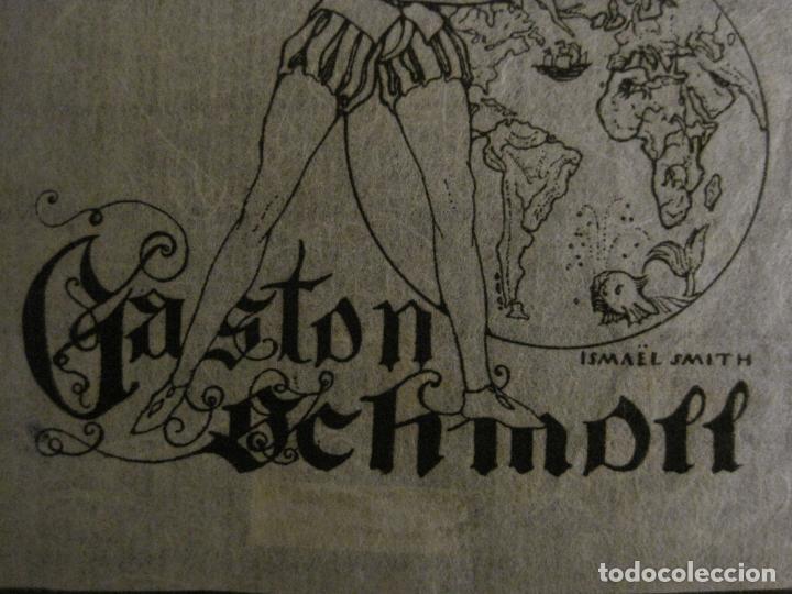 Arte: EX LIBRIS-GASTON SCHMDITT-ISMAEL SMITH-VER FOTOS-(X-2695) - Foto 3 - 183721440