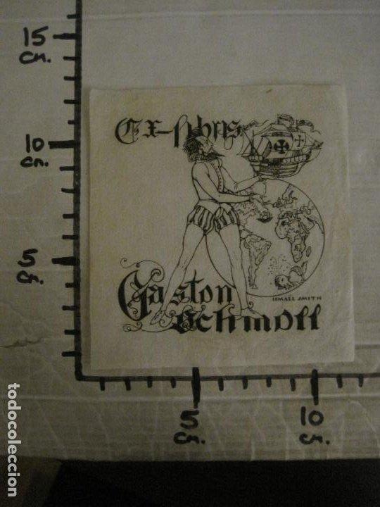 Arte: EX LIBRIS-GASTON SCHMDITT-ISMAEL SMITH-VER FOTOS-(X-2695) - Foto 6 - 183721440