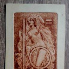 Arte: EX-LIBRIS - ÁLVARO MOLTENI - AGUAFUERTE . Lote 184195698