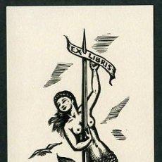 Arte: ARTISTA: ANTONI OLLÉ I PINELL. PROPIEDAD: E. C. RICART NIN. MEDS. PAPEL: 70 X 140 MMS. BOJ.. Lote 10620477