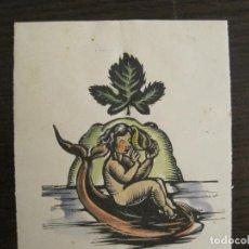 Arte: EX LIBRIS-ANTONI GELABERT ALTAFULLA-VER FOTOS-(X-2772). Lote 191824825