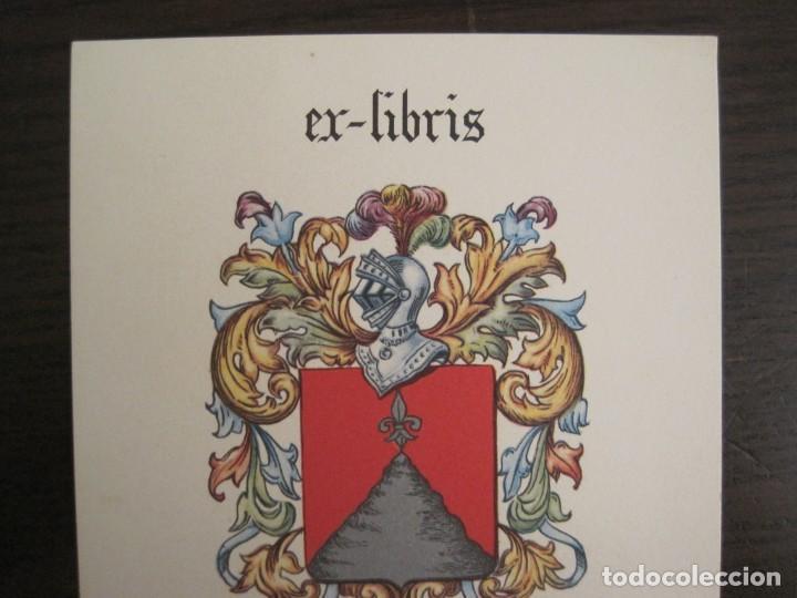 Arte: EX LIBRIS-FELIP GIMENEZ MONMANY-VER FOTOS-(X-2756) - Foto 2 - 191829268