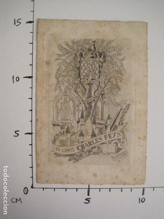 Arte: EX LIBRIS-CHARLES FEYS-VER FOTOS-(X-2758) - Foto 4 - 191829553