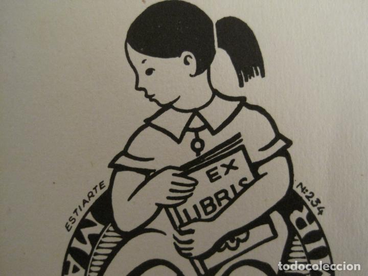 Arte: EX LIBRIS-MARIA DOLORES-ESTIARTE-VER FOTOS-(X-2806) - Foto 3 - 191833647
