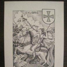 Arte: EX LIBRIS-SANT JORDI-VICENS TARRES-ESTIARTE-VER FOTOS-(X-2939). Lote 192185772