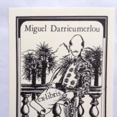 Art: EX-LIBRIS EXLIBRIS BOOKPLATE JACQUES BACARISSE. TORERO. Lote 192779073