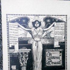 Arte: EX-LIBRIS LLORENÇ BRUNET 1916. Lote 193917902