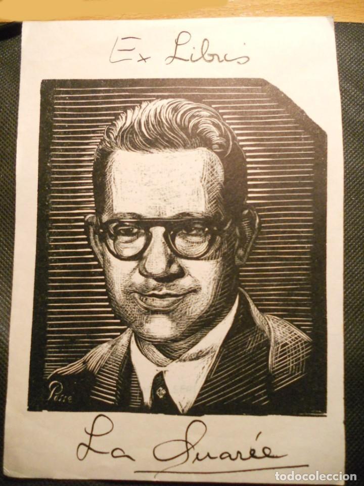 EX-LIBRIS OCTAVIO DE LA SUAREE - CUBA 1952 (Arte - Ex Libris)