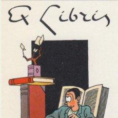 Art: JOOST SWARTE. EX-LIBRIS. HOLANDA 1981. Lote 193985082