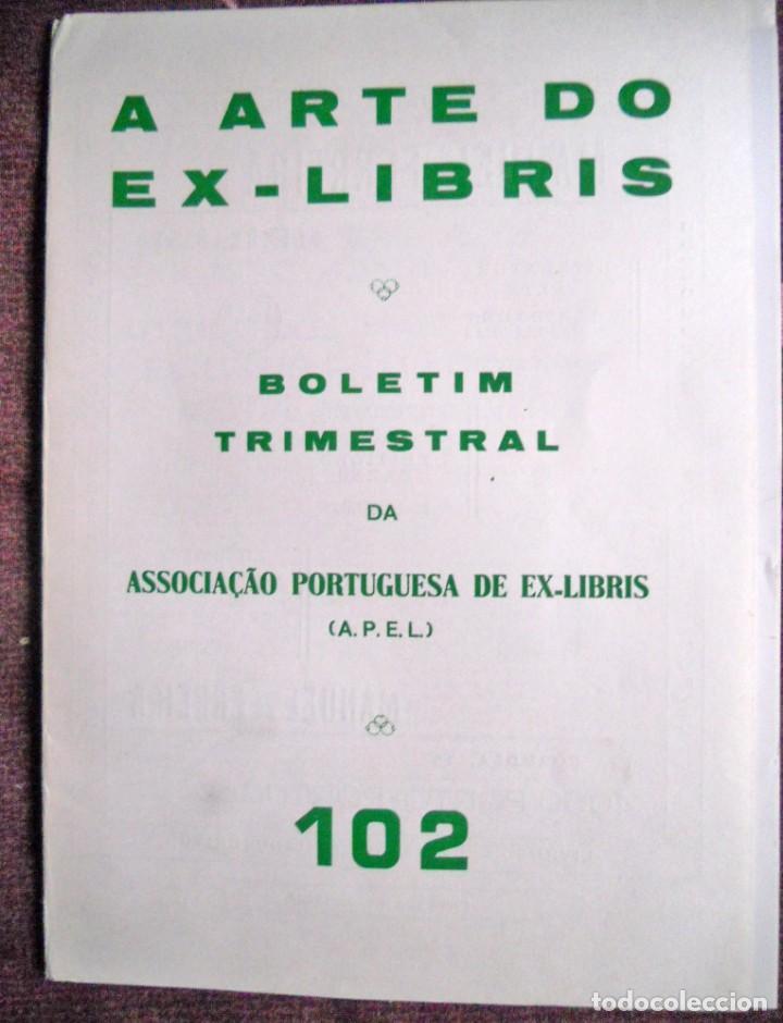 A ARTE DO EX-LIBRIS - Nº 102 - BOLETIM TRIMESTRAL 1983 (Arte - Ex Libris)