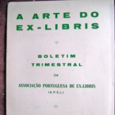 Arte: A ARTE DO EX-LIBRIS - Nº 102 - BOLETIM TRIMESTRAL 1983. Lote 194076243