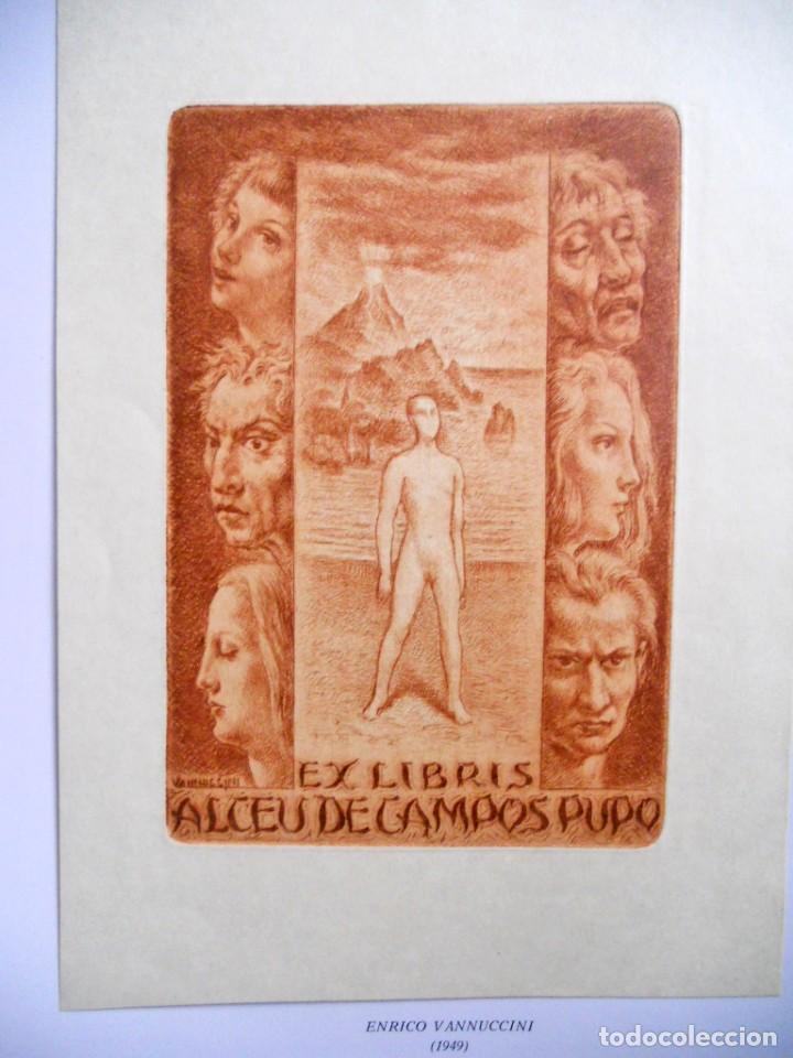 Arte: A ARTE DO EX-LIBRIS - Nº 102 - BOLETIM TRIMESTRAL 1983 - Foto 5 - 194076243