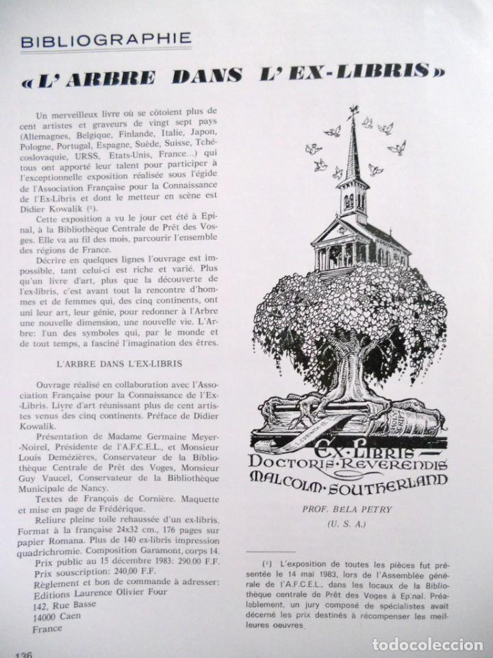 Arte: A ARTE DO EX-LIBRIS - Nº 102 - BOLETIM TRIMESTRAL 1983 - Foto 10 - 194076243