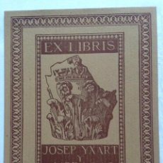 Arte: EX-LIBRIS EXLIBRIS CIDÓN. CAPITEL. Lote 194877422