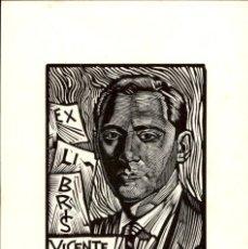 Art: EXLIBRIS - EX LIBRIS - JULIO FERNÁNDEZ SÁEZ - APROX. 1965 - 160 X 110 MM - BOOKPLAT . Lote 195993216