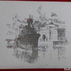 Arte: BLOKADA DE LENINGRADO 1943 LITOGRAFIA. Lote 197784687