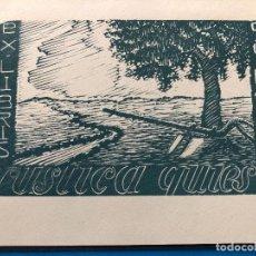 Arte: EXLIBRIS GIGI RAI MONDO. Lote 198334966