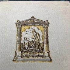 Arte: EX LIBRIS TOMAS FORNELLS. Lote 198335538