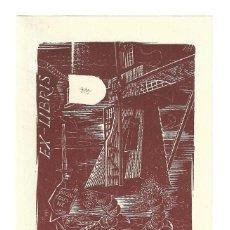 Arte: EX- LIBRIS.- FRANCESCO CARBONARA. Lote 198817080