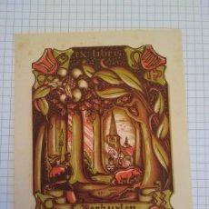 Arte: EX LIBRIS L. VECKUYLEN. Lote 199398281