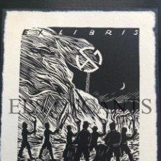 Arte: EXLIBRIS DR FRIEDRICH OETKEN . Lote 200359648