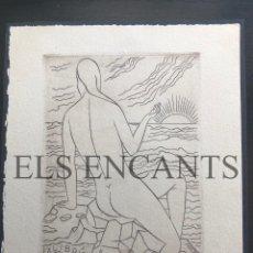 Arte: EXLIBRIS HERBERT BOHM . Lote 200359708