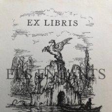 Arte: EXLIBRIS HEINRICH BOHM . Lote 200359815
