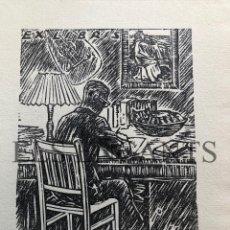 Arte: EXLIBRIS HARRY SHALKOWSKY. Lote 200359958