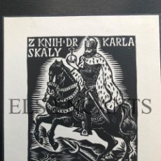 Arte: EXLIBRIS KARLA SKALY . Lote 200360587