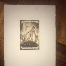 Arte: 19128 EXLIBRIS GRABADO J. H. STERBA.. Lote 203272621