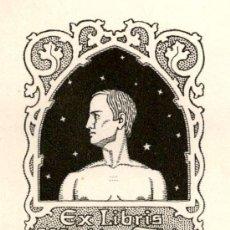 Arte: ORIGINAL - EXLIBRIS EX-LIBRIS RICHARD FLOCKENHAUS. DATA: 1930 - 1945. - MEDIDAS: 11 X 9 CMS. Lote 207121327