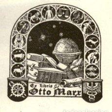 Arte: ORIGINAL - EXLIBRIS EX-LIBRIS RICHARD FLOCKENHAUS. DATA: 1930 - 1945. - MEDIDAS: 7 X 6 CMS. Lote 207121993