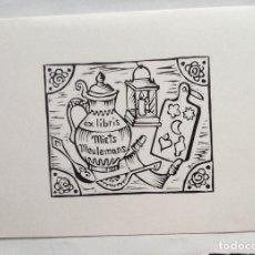 Arte: EXLIBRIS EX-LIBRIS RENATE SCHWARZER. MENAJE DE COCINA. Lote 208120855