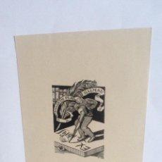 Arte: EXLIBRIS EX-LIBRIS ESTIARTE, OPUS 146. LIBROS PLUMA BURIL. Lote 208209667