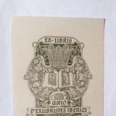 Arte: EXLIBRIS EX-LIBRIS A. SAURI SIRES. GRANADA CAPITEL LIBRO MONTSERRAT. Lote 208210781