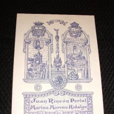 Arte: EX LIBRIS DE SEGOVIA ALCAZAR PARA JUAN RINCON PORTAL EXLIBRIS POR RICARDO ABAD 1985 FUTBOL QUIJOTE. Lote 210031707