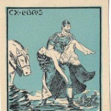 Art: EX-LIBRIS DE JUAN VICENT BOTELLA I FERRANDIZ PARA DR.J.CATASÚS - 1951. Lote 216696120