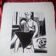 Arte: EXLIBRIS CAUDÉ 52- 12/100. Lote 218148627