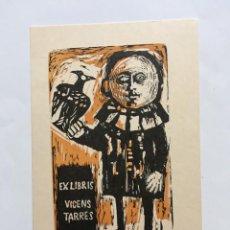 Arte: EX-LIBRIS EXLIBRIS JOSÉ MARÍA ESCOFET, 1964. CETRERÍA HOMBRE HALCÓN. Lote 218769693