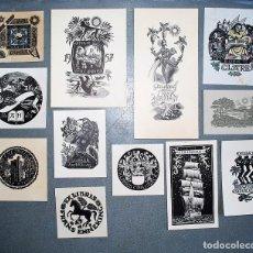 Arte: 31 EX-LIBRIS DE PAM GEORG REUTER. Lote 218805801