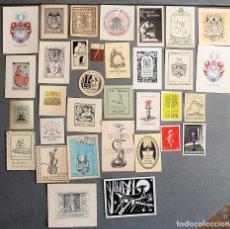 Arte: 33 EX-LIBRIS DE DINAMARCA DENMARK DANMARK. Lote 218812795