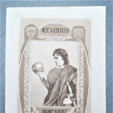 Arte: EX-LIBRIS DE KURT LIBESNY. Lote 218908888