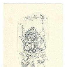 Arte: EX- LIBRIS.- JUAN ARTURO SEDÓ. ILUSTRADO POR ALPRESA. ARTE. LIBROS. Lote 221564433