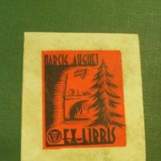 Arte: EX-LIBRIS NARCIS HAUGET. Lote 222040251
