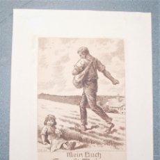 Arte: EX-LIBRIS DE ROB LANGLEY PARA ERNST THIENE 1918. Lote 222045576