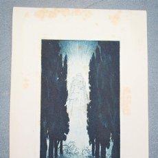 Arte: EX-LIBRIS DE ADOLF KUNST PARA AUGUSTA WIRTH. Lote 222046407