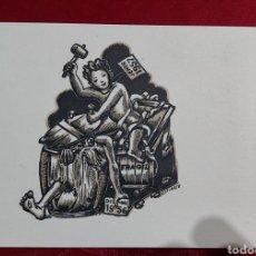 Arte: JOAN ESTIARTE SAMSÓ FELICITACIÓN NAVIDAD 1956. Lote 223523078