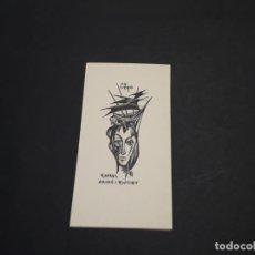 Arte: EXLIBRIS RAFAEL AMIGO I RIUTORT. Lote 223623976